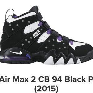 Nike Air Max 2 CB 94 Black Purple (2015)